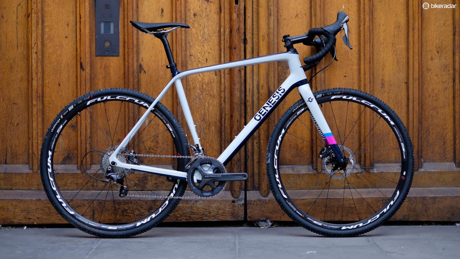 Genesis has a new range of cyclocross bikes, topped by the Carbon Vapour CX30