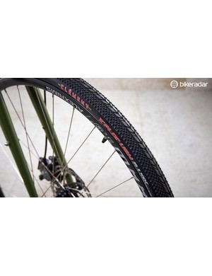 Clement's X'Plor tyres fit in well with the retro aesthetics