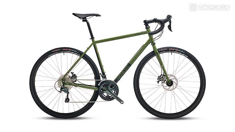 With its olive paint job, Genesis' stately Croix de Fer 20 has an appropriately tank-like look