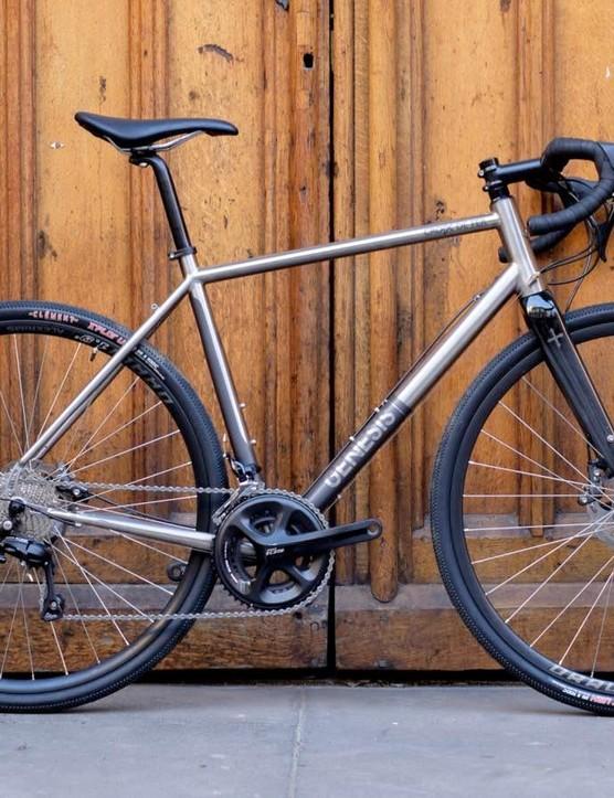 The Genesis Croix de Fer Ti is one good-looking bike