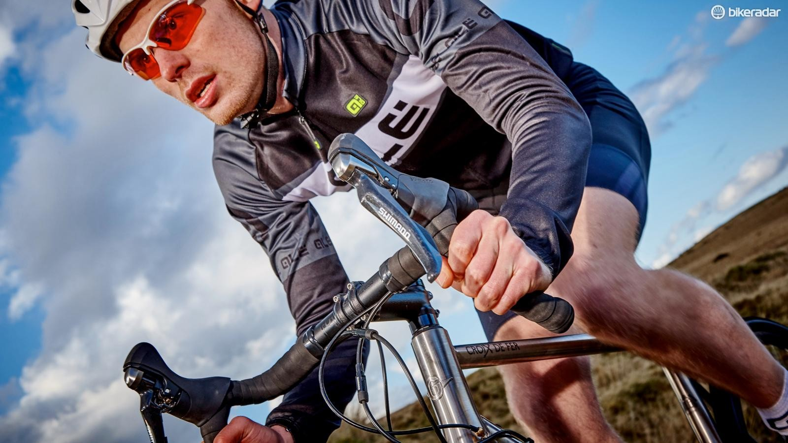 If you want to ride mixed terrain fast then the Genesis Croix de Fer Ti is an excellent choice