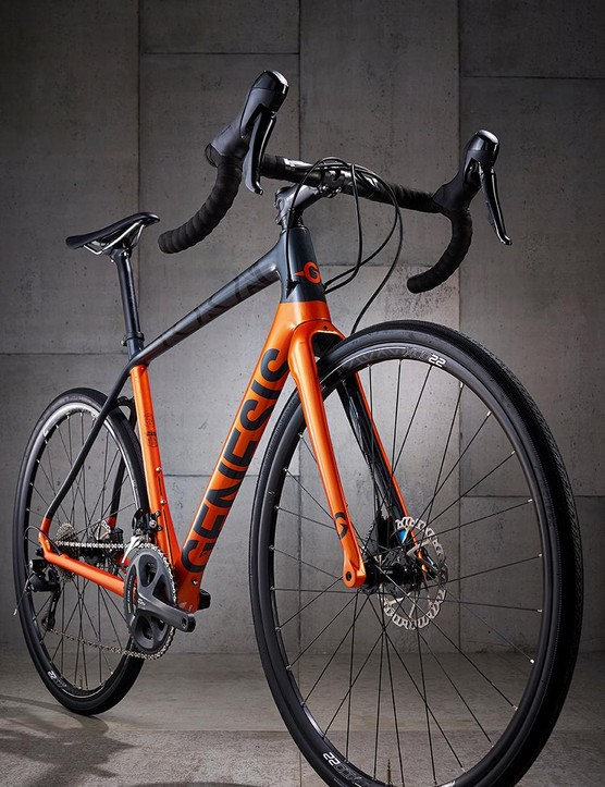 A sweet riding frame and tyres offset hefty wheels to keep the Datum a dynamic delight
