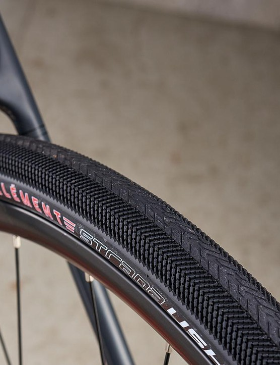 There is plenty of room for big tyres to widen your riding horizons