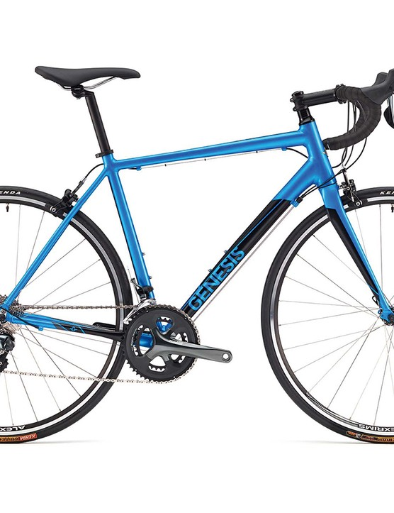 The Delta 20 is Genesis' entry-level aluminium-framed road bike