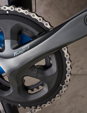 10-speed Shimano Tiagra works well