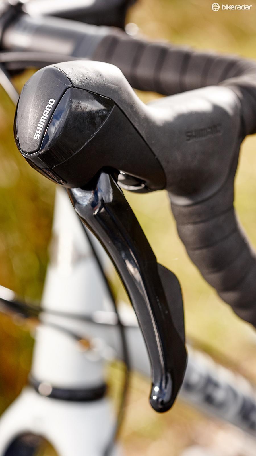 5b14d5d4269 Genesis Fugio Robert Smith. The shape of the Shimano 505 brake hoods won't  suit everyone