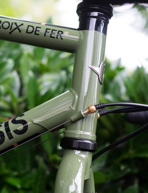 We've always been a fan of the brass downtube barrel adjusters