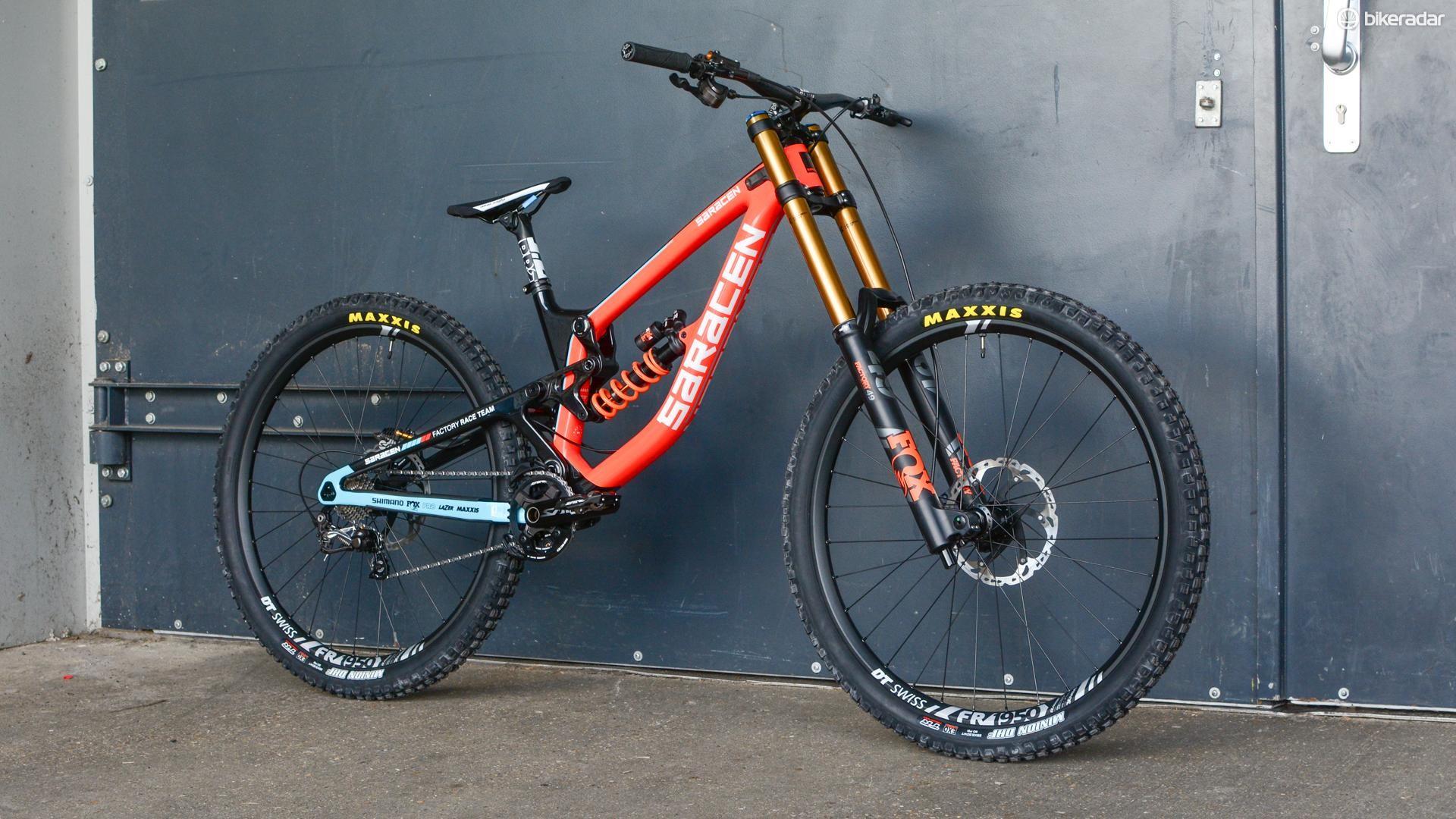 The Myst is a proper DH race bike