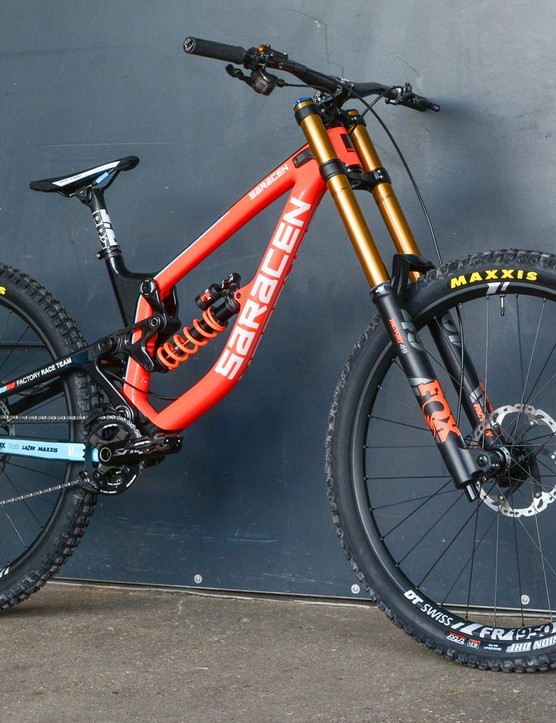 The Myst is a proper DH race bike