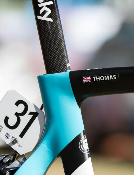Geraint Thomas goes into his sixth season with Team Sky