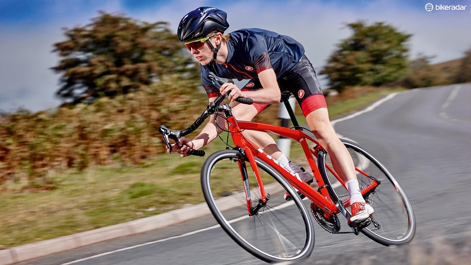 Tyre pressure can affect your speed on the bike