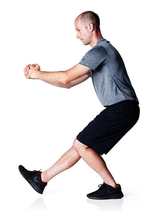 One-leg squat