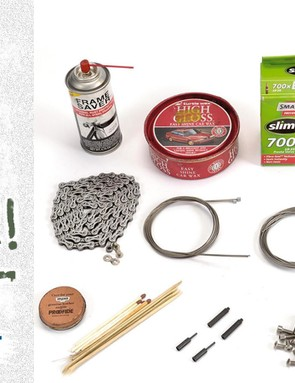 You don't need a huge amount of tools or kit to get your bike ready for winter