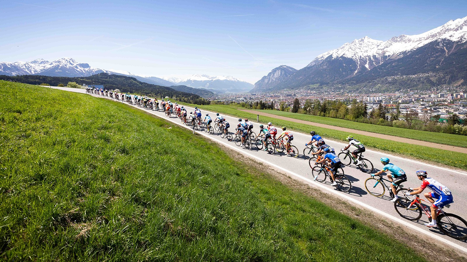 Visitors of the 2018 UCI Road World Championships will enjoy the fantastic scenery in Innsbruck-Tirol