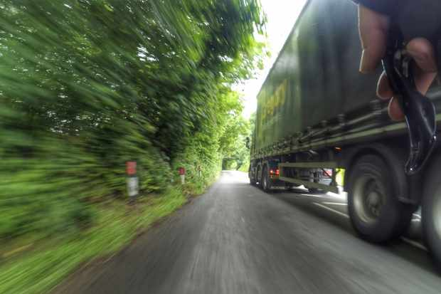 Close passes and being overtaken by lorries are, unsurprisingly, a deterrant for potential cyclists