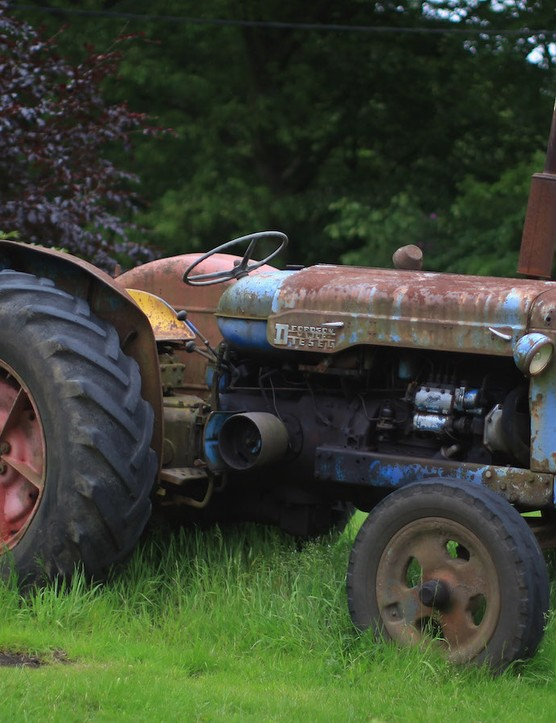 And most tractors are very well maintained