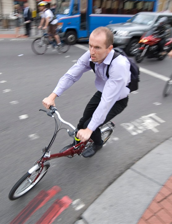 Schemes like Cycle to Work have helped to increase cycle commuters