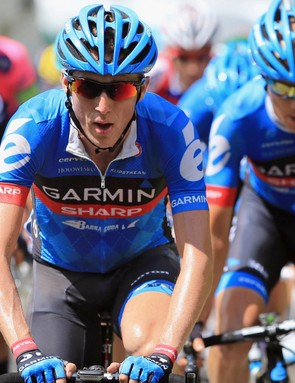 Dan Martin (Garmin-Sharp) attacked during stage 9 of the 2013 Tour de France due to Ketchell's analysis