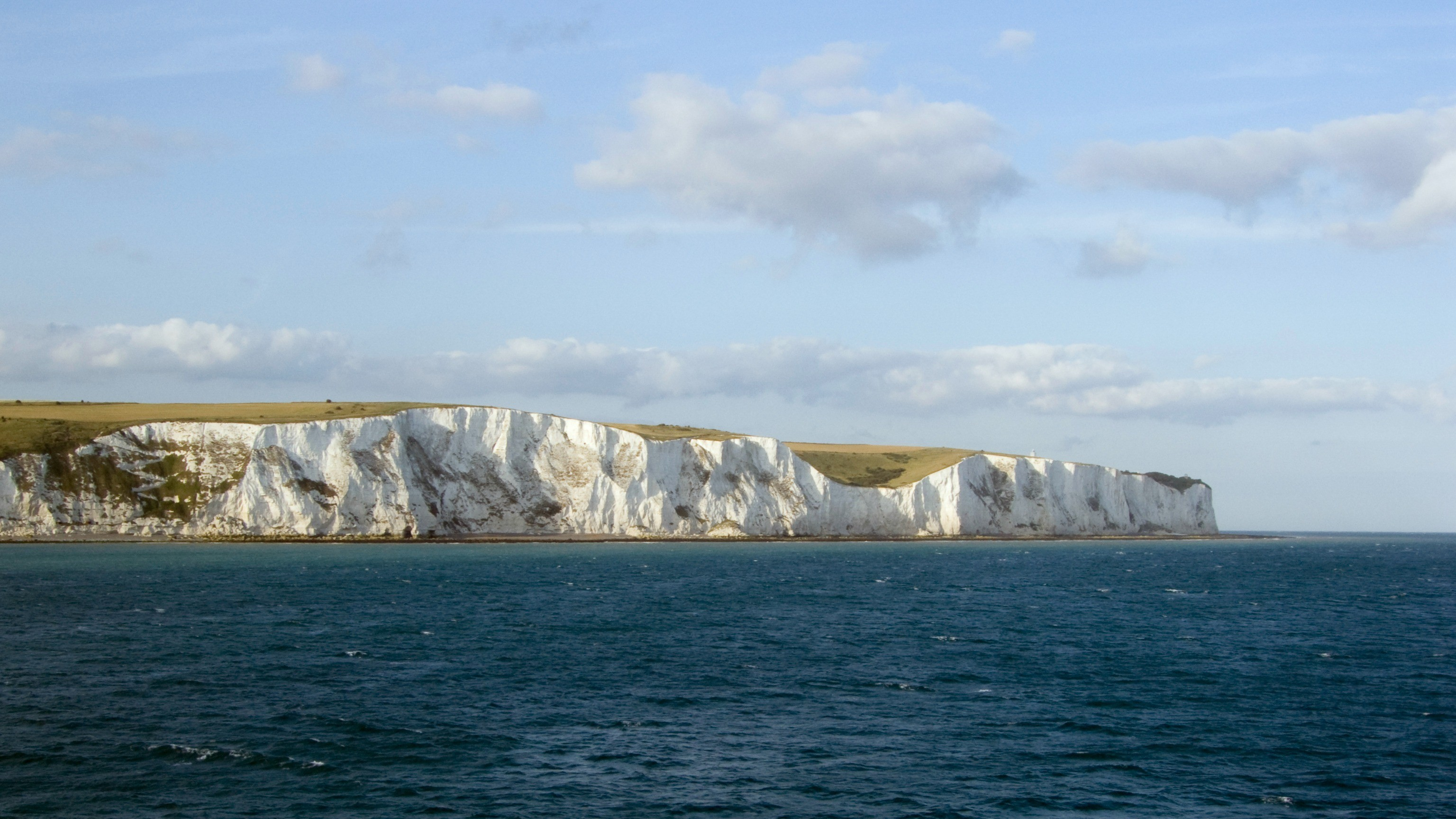 You can ride a National Cycle Network route to Dover, then it's a quick trip on the ferry to mainland Europe