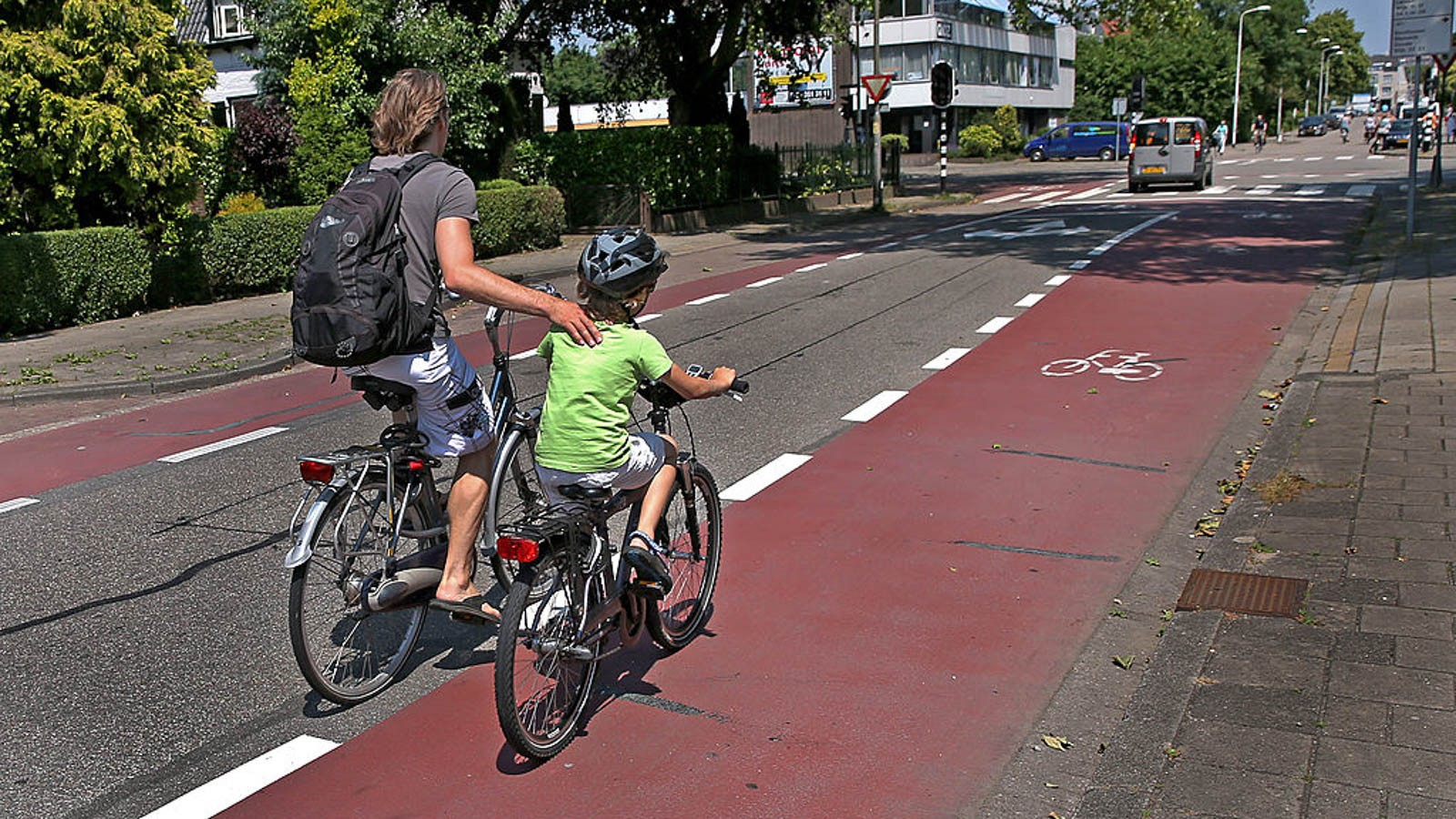 Let's all go Dutch, and get our kids cycling to school
