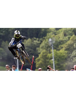 Australia's Sam Hill is always a contender