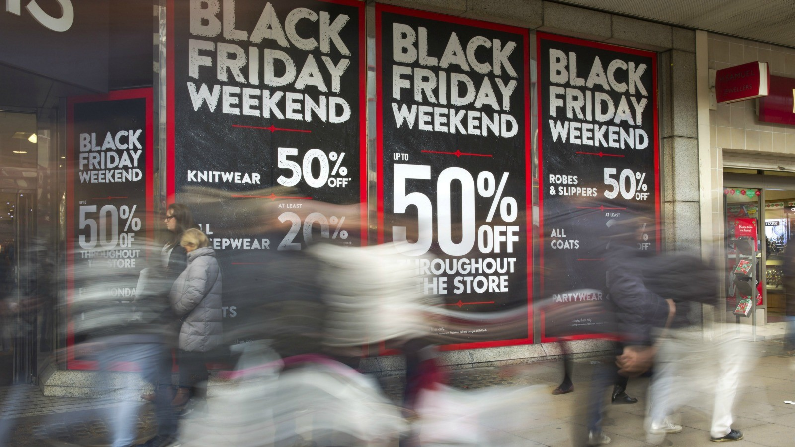 Black Friday – it's basically another way of saying 'big sale'