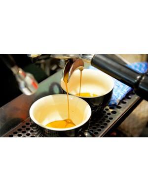Good coffee on tap?