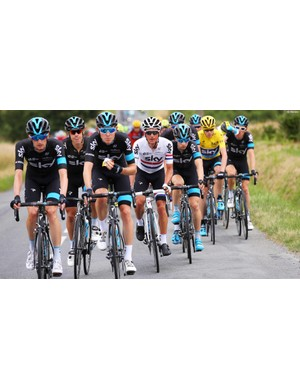 The Team Sky ethos of 'leave nothing to chance' clearly delivers results