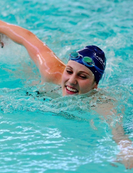 Swimming is an enjoyable way to build on your fitness