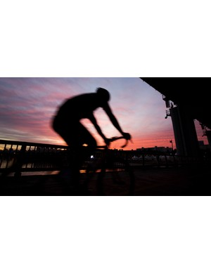 Early morning rides are a good way to improve your body's ability to use fat for fuel