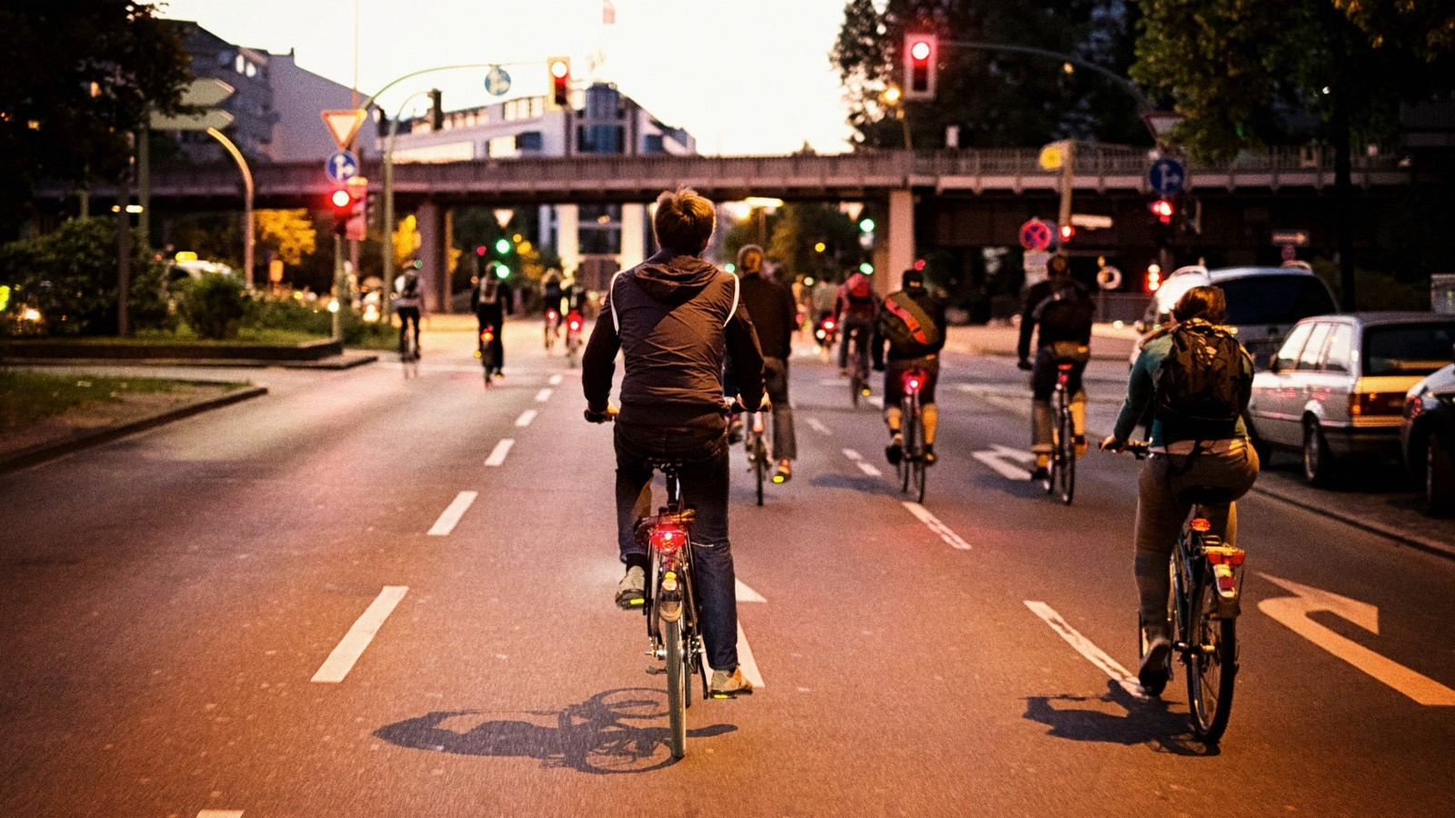 Commuting by bike is an efficient way of making exercise and cycling part of your everyday life