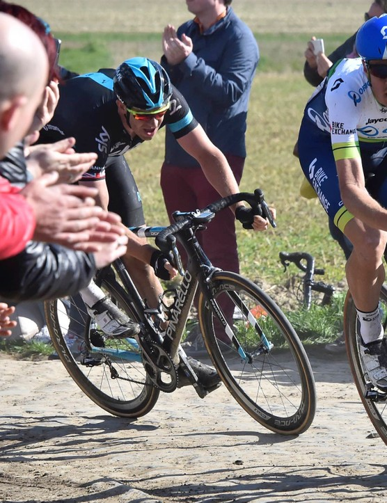 It's no surprise that Matthew Hayman (Orica-GreenEdge) could ride an aero bike on the Paris-Roubaix cobbles, says Thomas