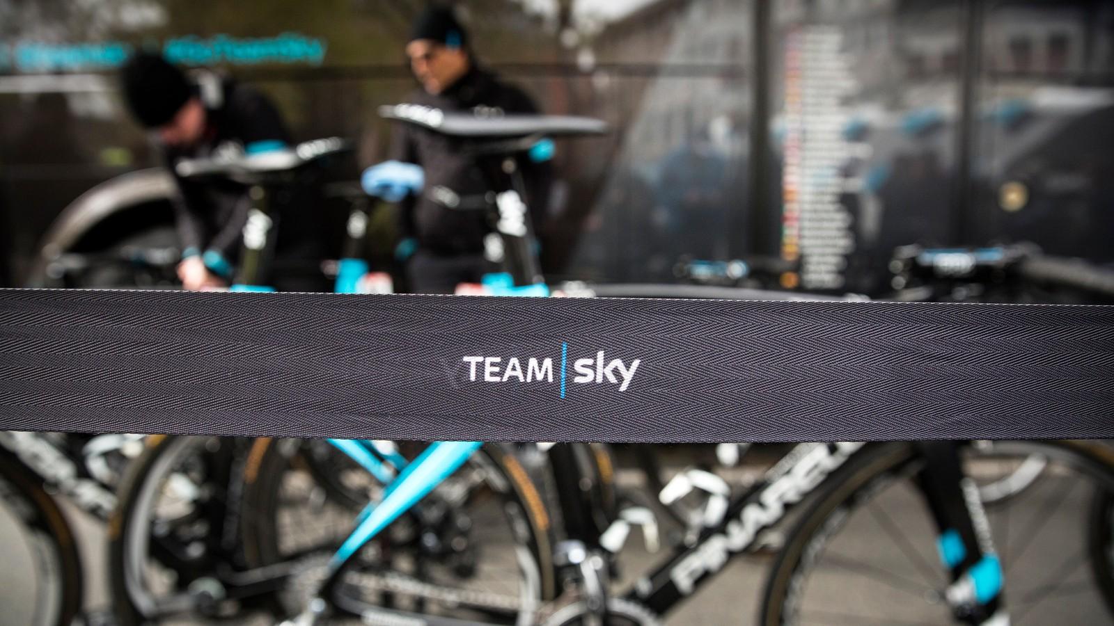 BikeRadar got to poke around Team Sky's service course during the Spring Classics