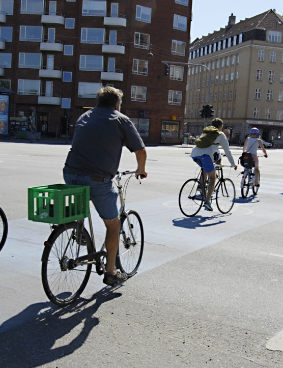 Copenhagen has seen bicycle traffic rise by 68 per cent in the last 20 years