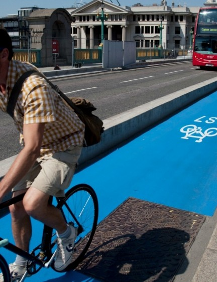 Transport for London aims to have 1.5 million journeys a day made by bike in the city by 2026