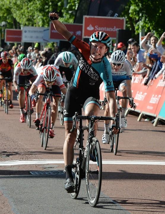 Tom Stewart (Madison-Genesis) won this year's Velothon Wales