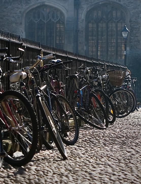 22% of Oxford's residents ride three or more times a week