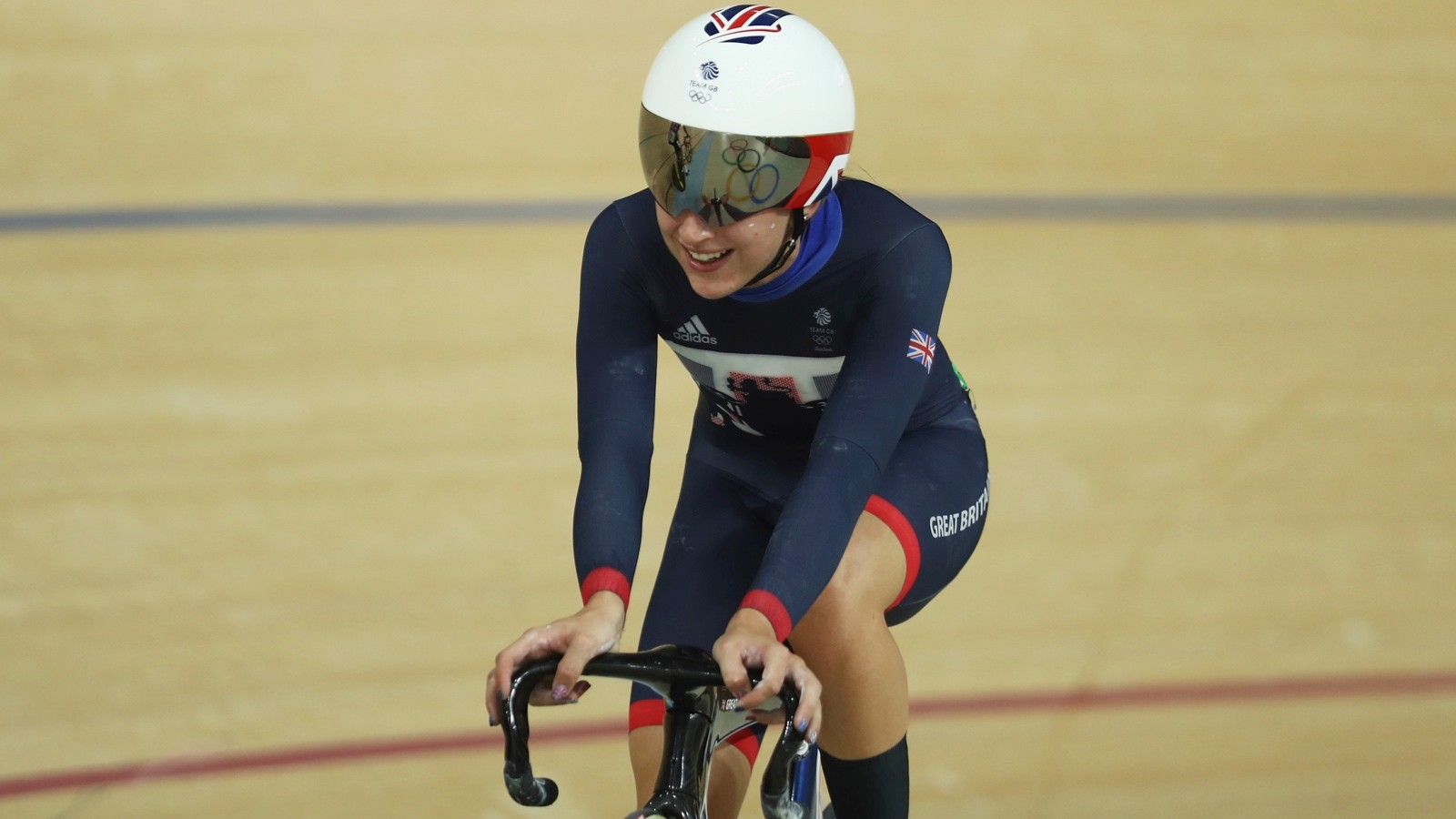 Many track cyclists, such as Laura Kenny, prove that you don't have to be muscly to have explosive power