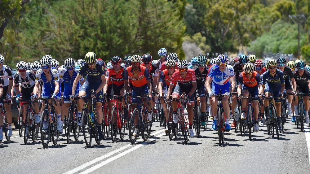 During the Tour Down Under this year temperatures soared into the high 40s