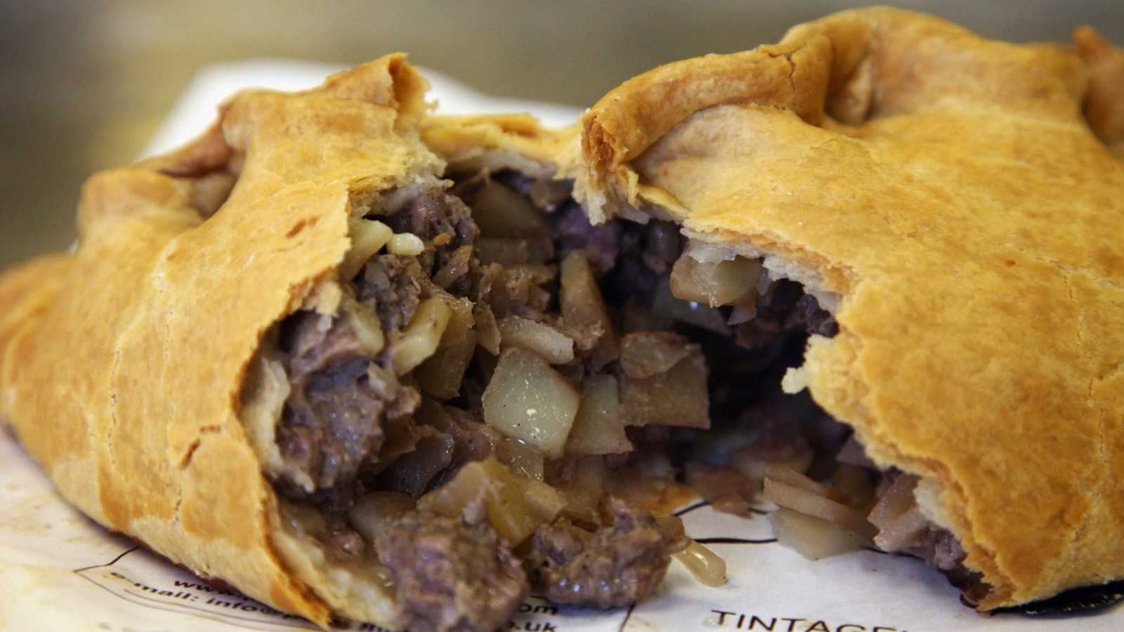 The humble Cornish pasty