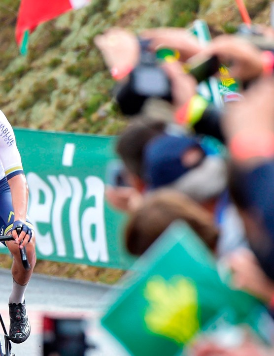Stefan Denifl won a stage at La Vuelta on the team's Grand Tour debut