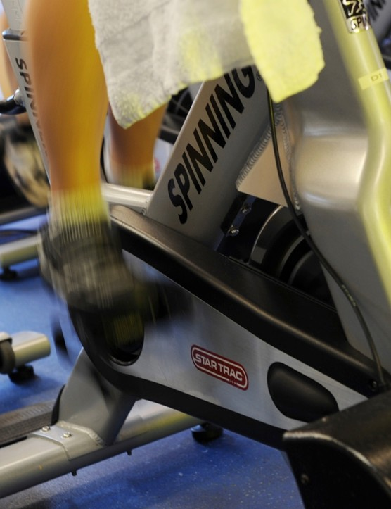 Spin classes are a great way to clock miles during grim winter months