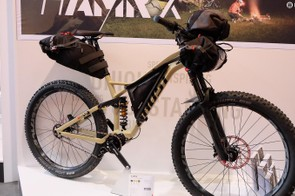 This Ghost HAMR X ticks off every conceivable box in the adventure category: plus tires, frame bags, gearbox...