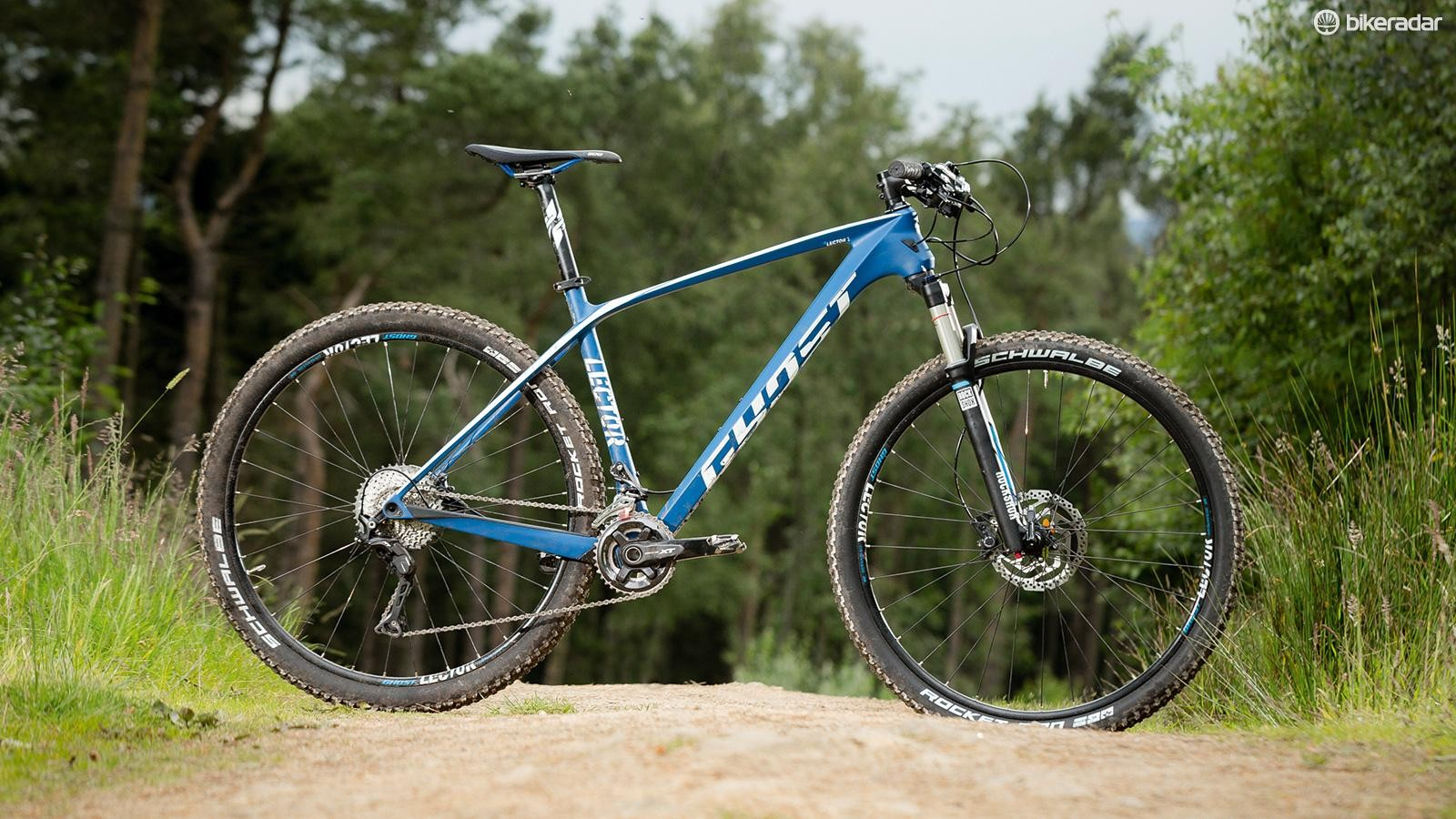 The Ghost Lector LC 3 frame includes really nice detailing such as Shimano direct mount and side swing derailleur compatibility