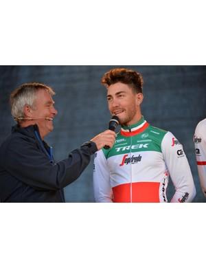 Italian national champion Giacomo Nizzolo