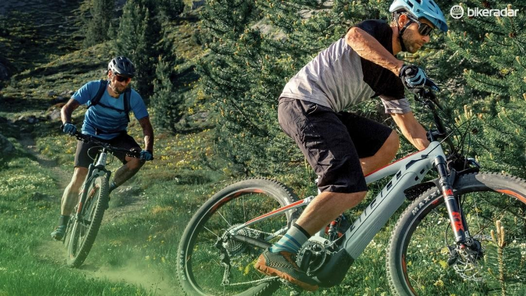 The Giant Stance E+ is aimed at less experienced riders