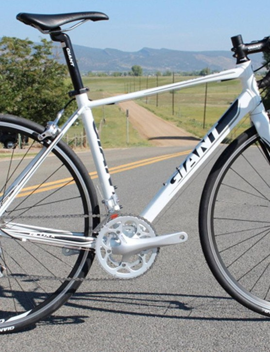 The Defy's geometry hasn't changed much since Giant launched it, but the rest of the bike is almost unrecognisable. The 2013 model is pictured above