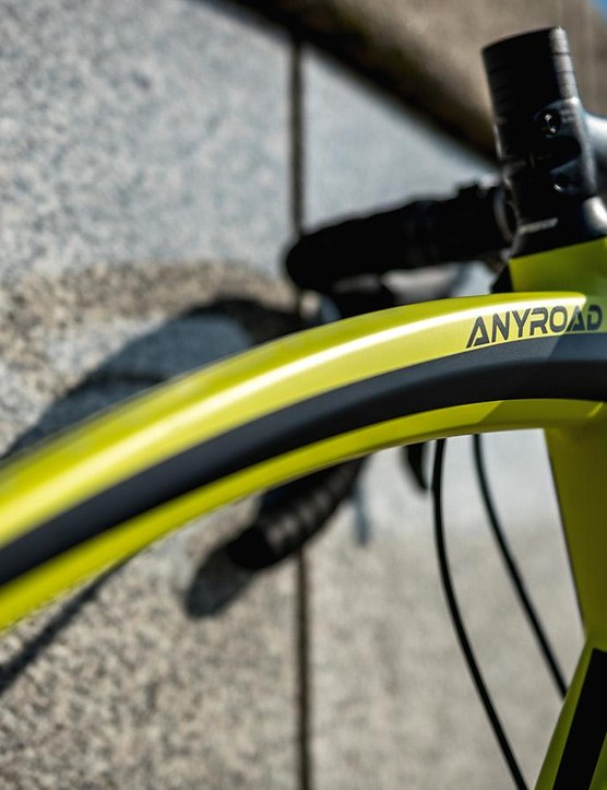 The huge bow-shaped top tube that won't be everyone's cup of tea