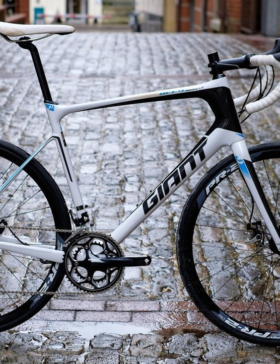 Giant's great-value Defy Advanced 2 is based on Paris-Roubaix-winning DNA