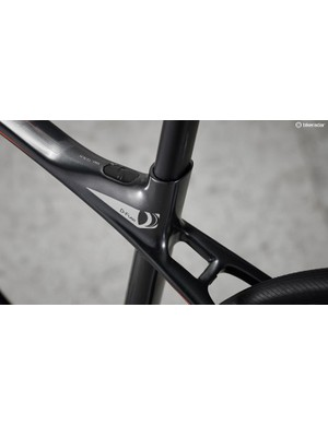 The D-Fuse composite seatpost provides a little more comfort